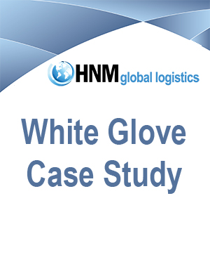 white glove services case study global logistics