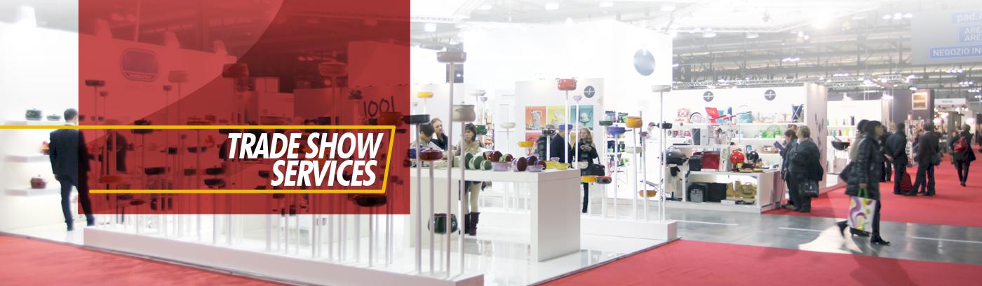 Trade Show logistics services