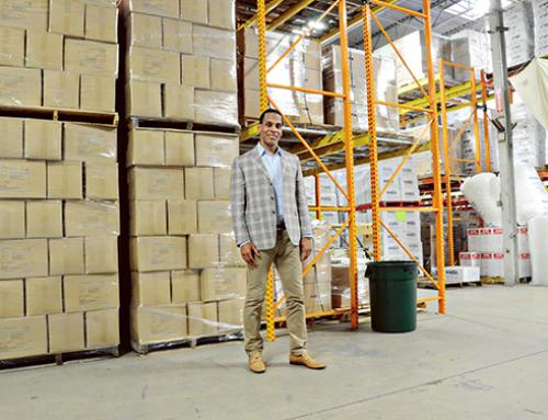 Former NFL player heads growing logistics firm
